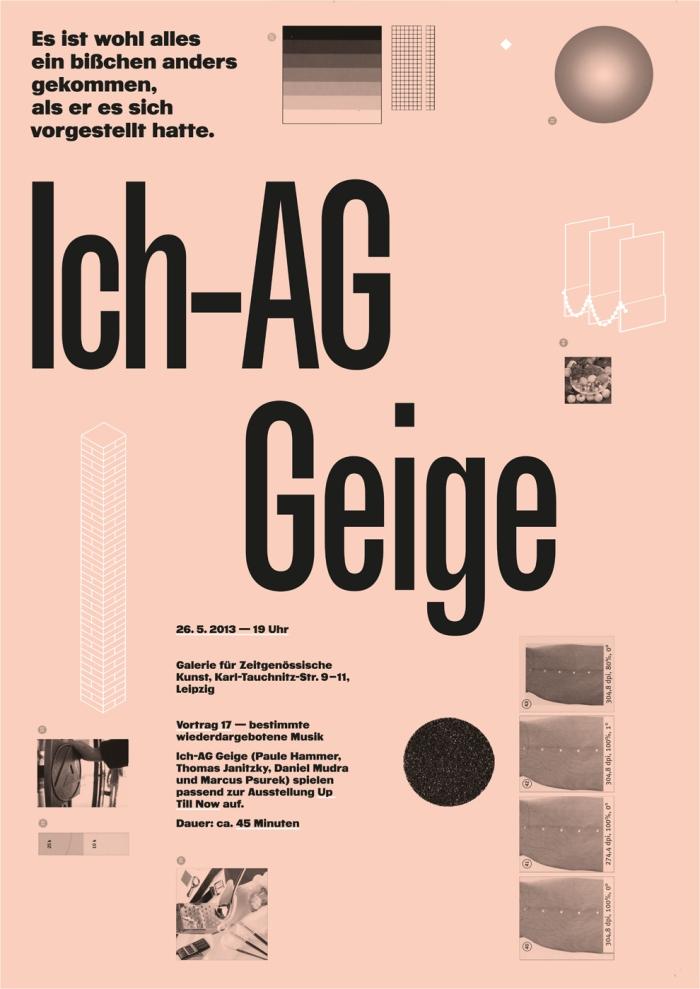 Ich-AG Geige
